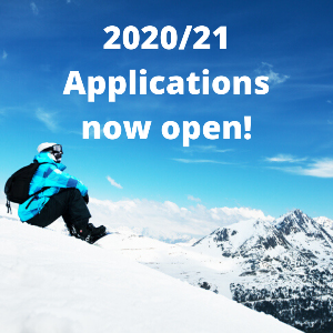Now hiring for the 2020/21 ski season