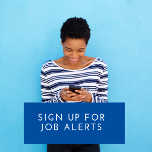 Sign up for free job alert emails