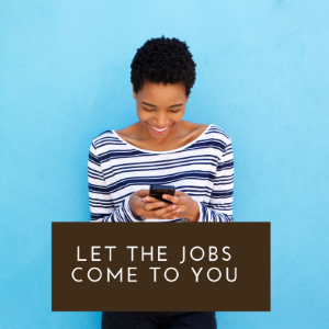 Sign up for jobs by email