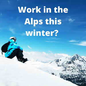 Find ski season jobs in the Alps